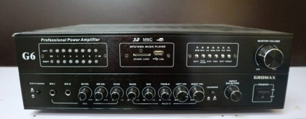 AMPLY GROMAX G6 SWIFTLETS AMPLIFIER